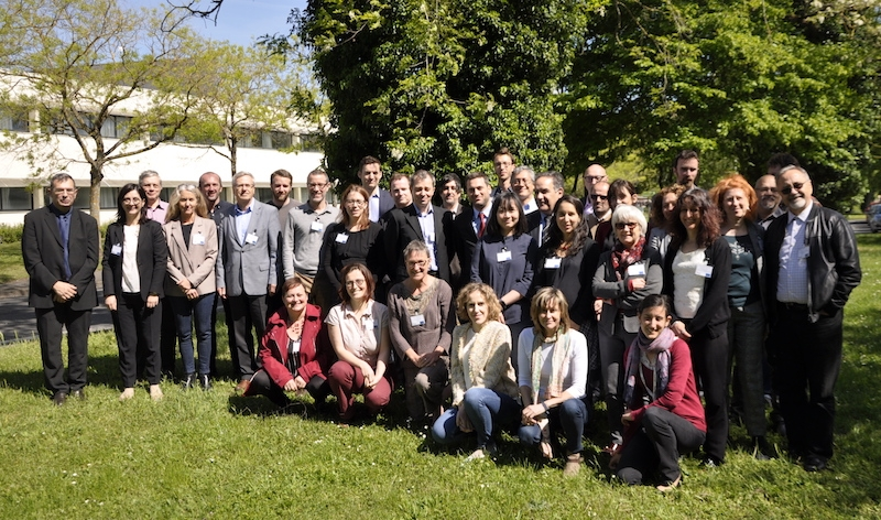 The STRATEGY CCUS team at the project launch in Orleans, May 2019
